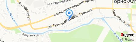 Пятый элемент на карте Горно-Алтайска