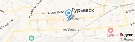 Ритуал на карте Гурьевска