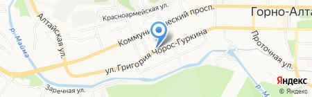 СтройКУБ на карте Горно-Алтайска