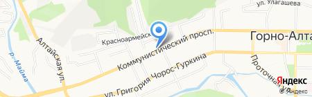 Мебельный магазин на карте Горно-Алтайска