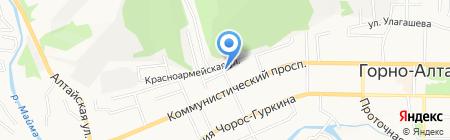 Планета-Инфо-Сервис на карте Горно-Алтайска