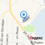 Автотрак на карте Гурьевска