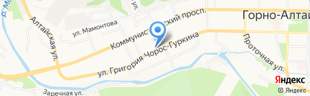 Аэро-Ломбард на карте Горно-Алтайска