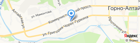 Пансофия на карте Горно-Алтайска