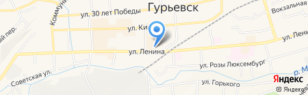 За пивом на карте Гурьевска