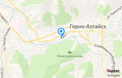 Местоположение на карте пункта техосмотра по адресу г Горно-Алтайск, ул Комсомольская, д 13