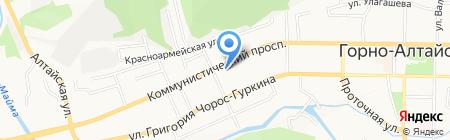 Ростехинвентаризация-Федеральное БТИ на карте Горно-Алтайска