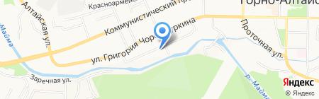Ремонтно-монтажная фирма на карте Горно-Алтайска