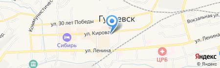 Мари на карте Гурьевска