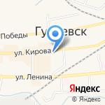 Солидарность на карте Гурьевска