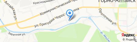 РЕСПУБЛИКАНСКИЙ ЦЕНТР СУДЕБНОЙ ЭКСПЕРТИЗЫ на карте Горно-Алтайска