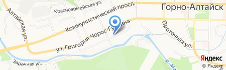 Мотылёк-2 на карте Горно-Алтайска