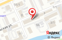 Схема проезда до компании Станпром в Горно-Алтайске