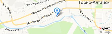 Республиканский центр дополнительного образования детей на карте Горно-Алтайска