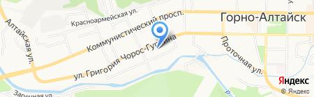 Геокад+ на карте Горно-Алтайска