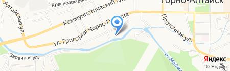 Главрыба на карте Горно-Алтайска