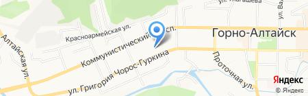 Респект на карте Горно-Алтайска
