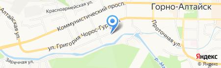 Центр учебно-наглядных пособий на карте Горно-Алтайска