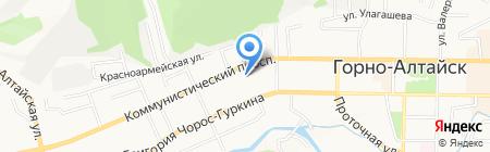 Горный Алтай-Медиа на карте Горно-Алтайска