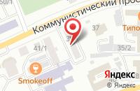 Схема проезда до компании Транссиб в Горно-Алтайске