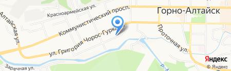 Горно-Алтайск нефтепродукт на карте Горно-Алтайска