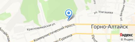 Республиканская гимназия им. В.К. Плакаса на карте Горно-Алтайска