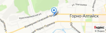 Радио России на карте Горно-Алтайска