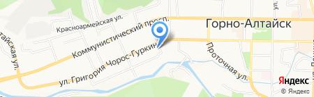 Ювелия на карте Горно-Алтайска