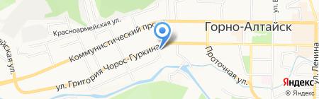 Швейная мастерская на карте Горно-Алтайска