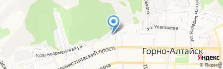 Министерство сельского хозяйства Республики Алтай на карте Горно-Алтайска