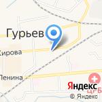 Мебельный магазин на карте Гурьевска