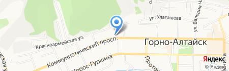 Отдел МВД России по г. Горно-Алтайску на карте Горно-Алтайска