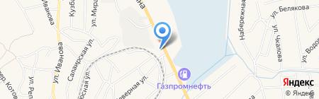 Транзит на карте Гурьевска
