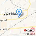 ХмельОН на карте Гурьевска