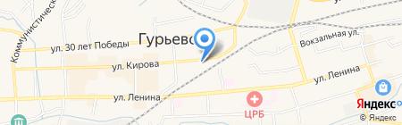 Кузбасское кредитное агентство на карте Гурьевска