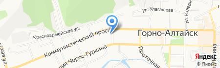 Единая Россия на карте Горно-Алтайска