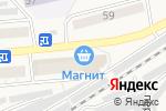 Схема проезда до компании Магнит в Гурьевске