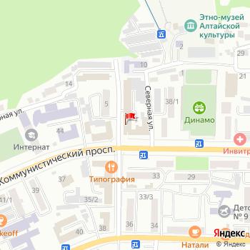 г. Горно-Алтайск, просп. Коммунистический,40 на карта