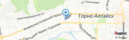 Горно-Алтайская межрайонная природоохранная прокуратура на карте Горно-Алтайска