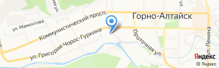 Onrela на карте Горно-Алтайска