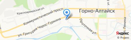 Мастерица на карте Горно-Алтайска