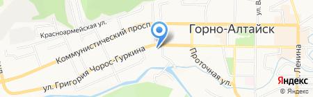 Фэмили на карте Горно-Алтайска