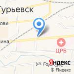 Фифа на карте Гурьевска