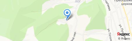 Автосервис на карте Горно-Алтайска