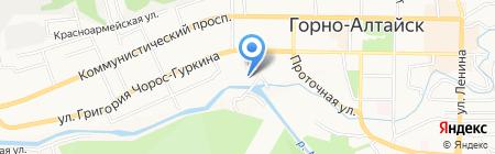 ИнТегра на карте Горно-Алтайска