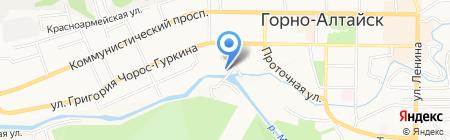 НСИ на карте Горно-Алтайска