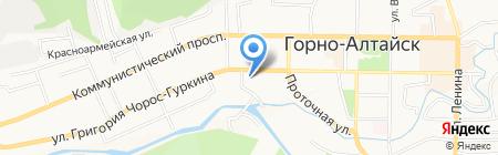 Эл Телеком на карте Горно-Алтайска