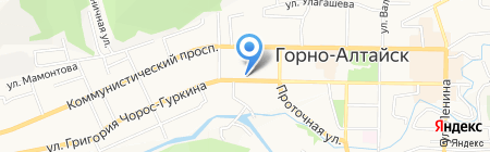 Бутик на карте Горно-Алтайска