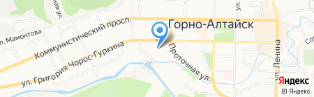 Магазин по продаже теплиц на карте Горно-Алтайска