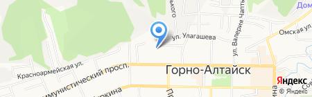 СДЮСШ Республики Алтай на карте Горно-Алтайска